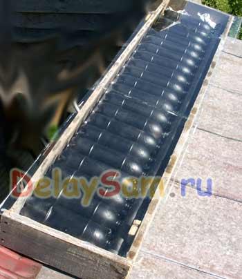 Как изготовить солнечный коллектор своими руками 15
